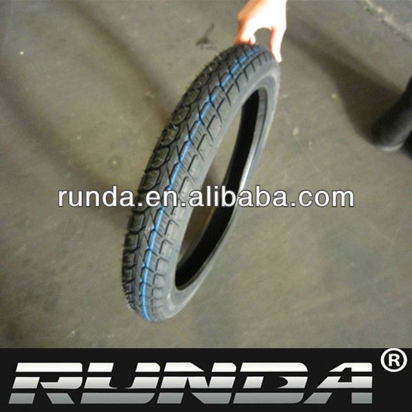 natural rubber and butyl rubber 2.75-17 inch motorcycle tire