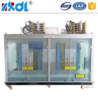 New ac dc switch mode electroplating rectifier with double control system