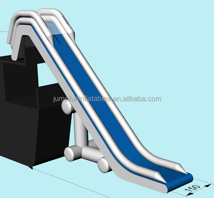 Adults Inflatable Dock Slide Yacht Water Slides cheap custom-made