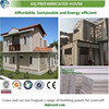 China quick install two storey prefab turnkey house prefab home