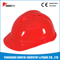 V-guard industrial construction hard hat ce en397 safety helmet