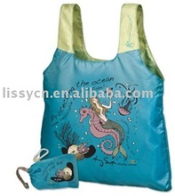 2012 recycled polyester shopping bag