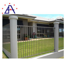 Cheap Aluminum wrought iron fence spears point supplier