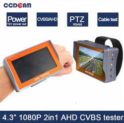 Most popular 2MP AHD CCTV Camera Tester with good price