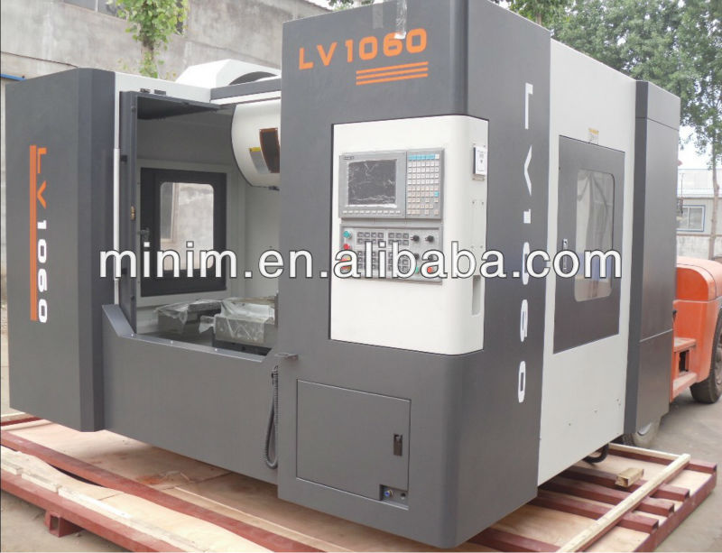 Taiwan lonpon LV1060 low cost vertical cnc milling machine