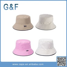 Fashion Cheap Custom Bucket Hat With String