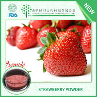 Natural fruit powder supplier provide Strawberry powder,Strawberry fruit powder,dried strawberry powder