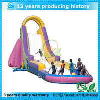 top popular big kahuna inflatable water slide for sale