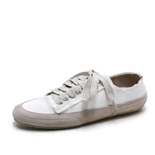 High quality white flat girls casual shoes women running shoes