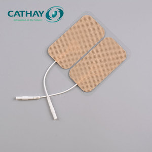 FDA certificated professional fabric backing reusable tens electrode gel pad