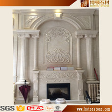 BOTON marble fireplace stone fireplace surround fire place mantel