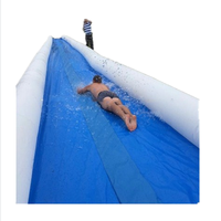 2018 Crazy and Popular Slip n Slide Largest Inflatable Slide The City