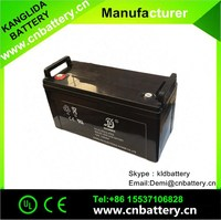 Rechargeable Lead Acid 12v 120ah battery for solar power system