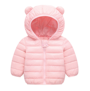 Babys Warm Winter Down Coats Infants Cotton-Filling 100% Polyester Diverse Color Unisex Baby Clothing