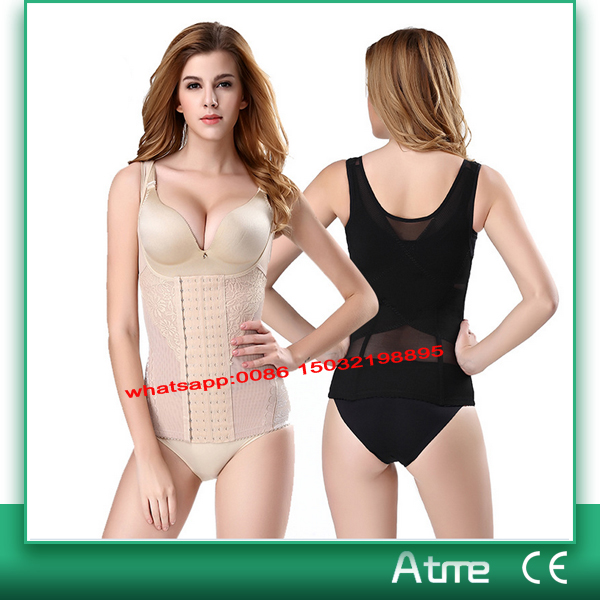 postpartum waist trainer body shaper women cheap waist training corsets plus size shapewear