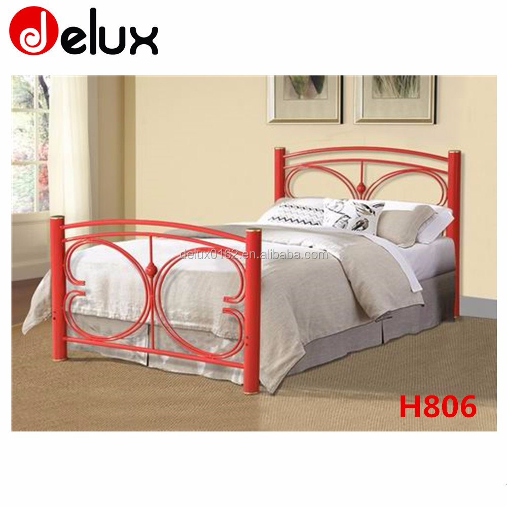 Cheap furniture mall bedroom product twin bed H806