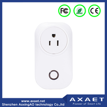Buletooth/Wifi remote control smart extension socket with plug for smart home