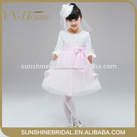 beautiful flower girl dress designs for girls baby evening dress