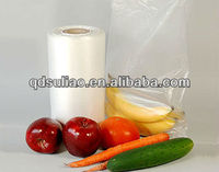 fresh fruit plastic bag/supermarket plastic bag on roll