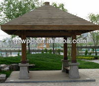 25 Years Life Cheap Waterproof WPC Pergola With FSC SGS CE Certification