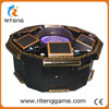 200kg Weight 12 months Warranty roulette game table indoor amusement games super rich man roulette game for sale