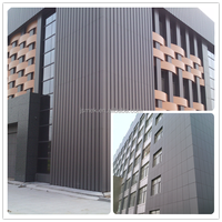 Outdoor usage fire resistant alucobond aluminum perforated wall cladding panel