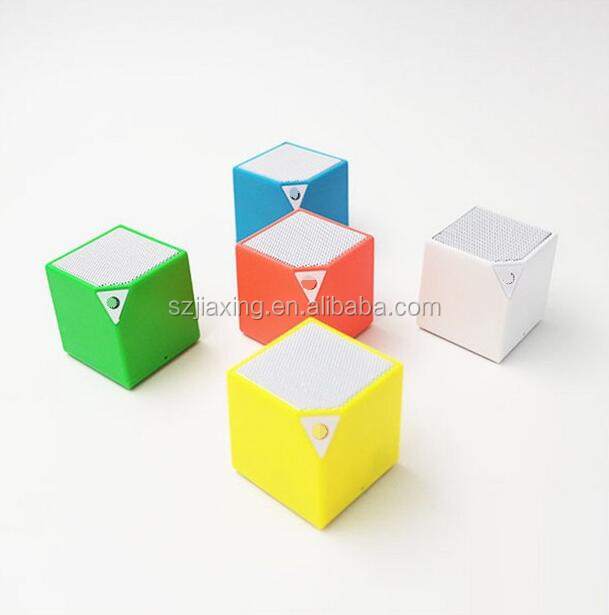 Free Shipping Mini Portable Square Outdoor Smart Box Bluetooth Speaker