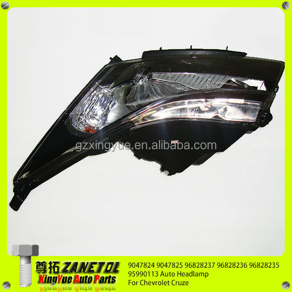 9047824 9047825 96828237 96828236 96828235 95990113 Auto Front Left And Right Headlamp For Chevrolet Cruze 2009