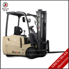 AC motor standard 1.6t - 2t three wheels electric forklift truck