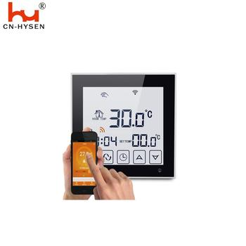 Hysen Hot Sale WIfi Colour Screen Weekly Program Floor Heating Thermostat