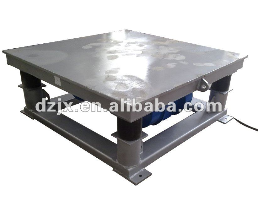 ZDP Series Vibrating Table Design for Concrete