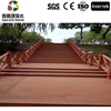 Outdoor wpc anti-slip decking material for garden low price wpc flooring