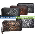 real genuine leather Clutch case smartphone pouch moq 50pcs