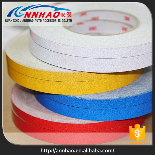1CM,1.5CM,2CM Width 45.7M Lenth Car Accessories Car Body 3m Car Reflective Tape