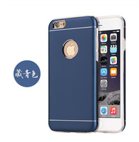 hot sale 360 degree protect camera silicone aluminum metal mobile cover for iphone 6s/6 plus case