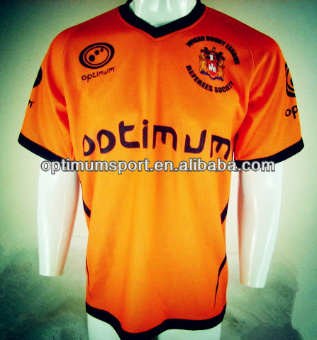 High Quality Mens Full Sublimated Rugby Jerseys with Custom design at a cheap unit price in 280g polyester, 100% breathable