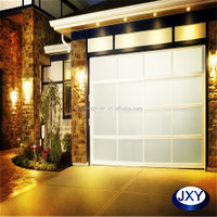 Tempered glass or Polycarbonate garage doors cheap