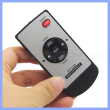 TFT LCD Monitor Mobile IR Remote Control 6 Keys Rubber Controller For LCD Display