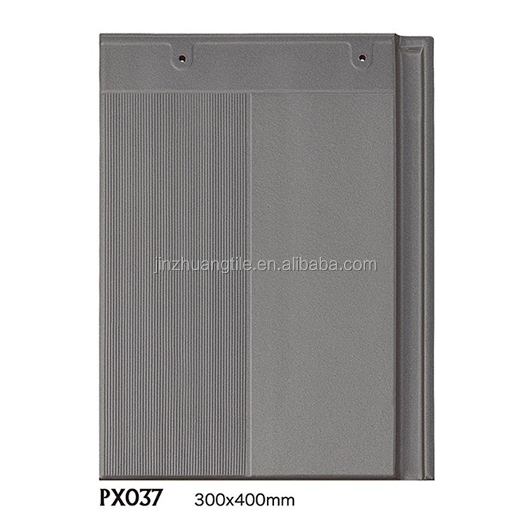 Wholesale top quality 300x400mm Glazed Flat Clay Plain Roof Tiles