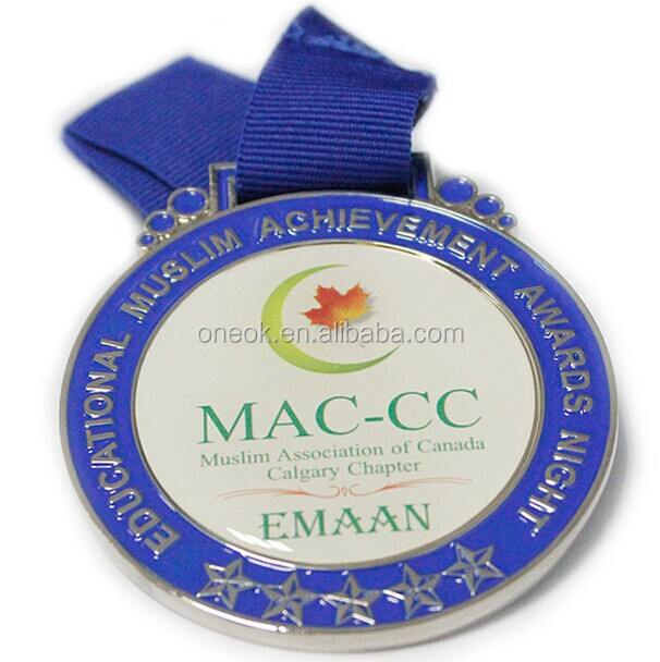 Custom Sport Marathon Metal Medal Medallion for Souvenir