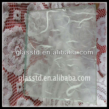 Clear and safety laminated glass