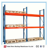 China Overstock Warehouse Factory Supplier Metal Deck Stainless Steel Rack Pallet Rack