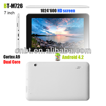 7 inch tablet pc,bulk wholesale android tablets, Dual Core HD screen