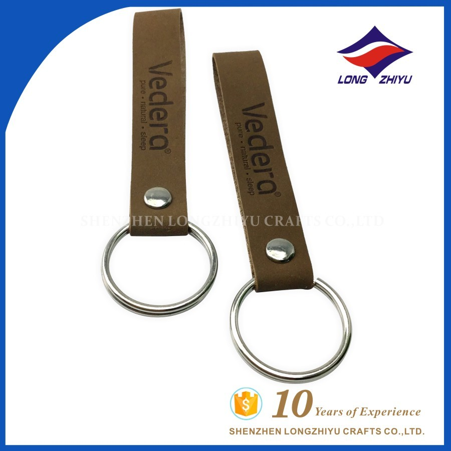 Initial Leather Keychain Cute Letter Style Keychains For Women