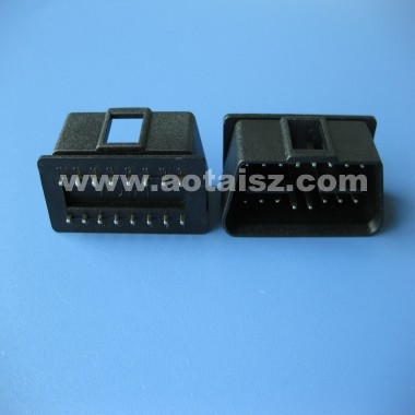 OBD OBD2 diagnostic 24V male plug OBDII connector