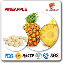500mg organic bromelain powder Pineapple Pellets Pills Tablets