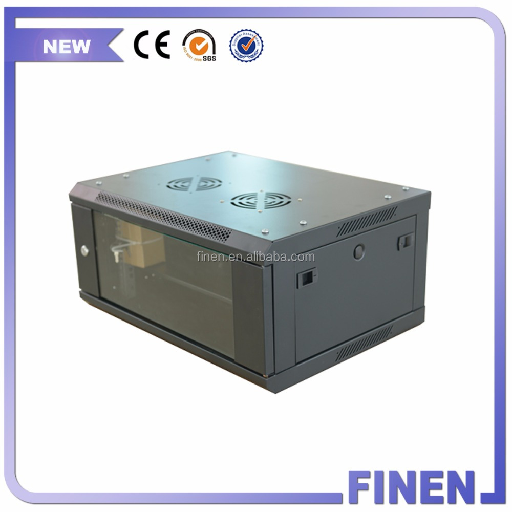 FINEN 19 inch 450 Depth 4U Rack Enclosure Wall Mounted data cabinet