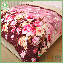Wholesale Chinese Printing Bed Fleece Quilt