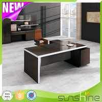 Executive Office Table Classic Office Furniture With File Cabinet BS-Z1890