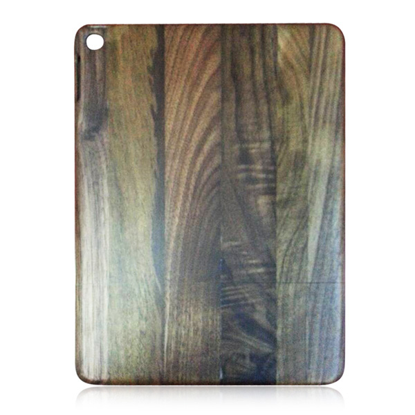 Factory wholesale high quality back cover for iPad air 2 wood case, natural wood case for iPad